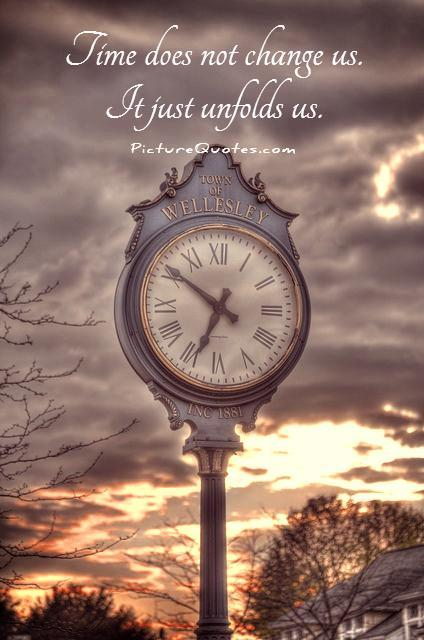 Time Changes Everything Shuvashree Chowdhury Ghosh - Time changes in us